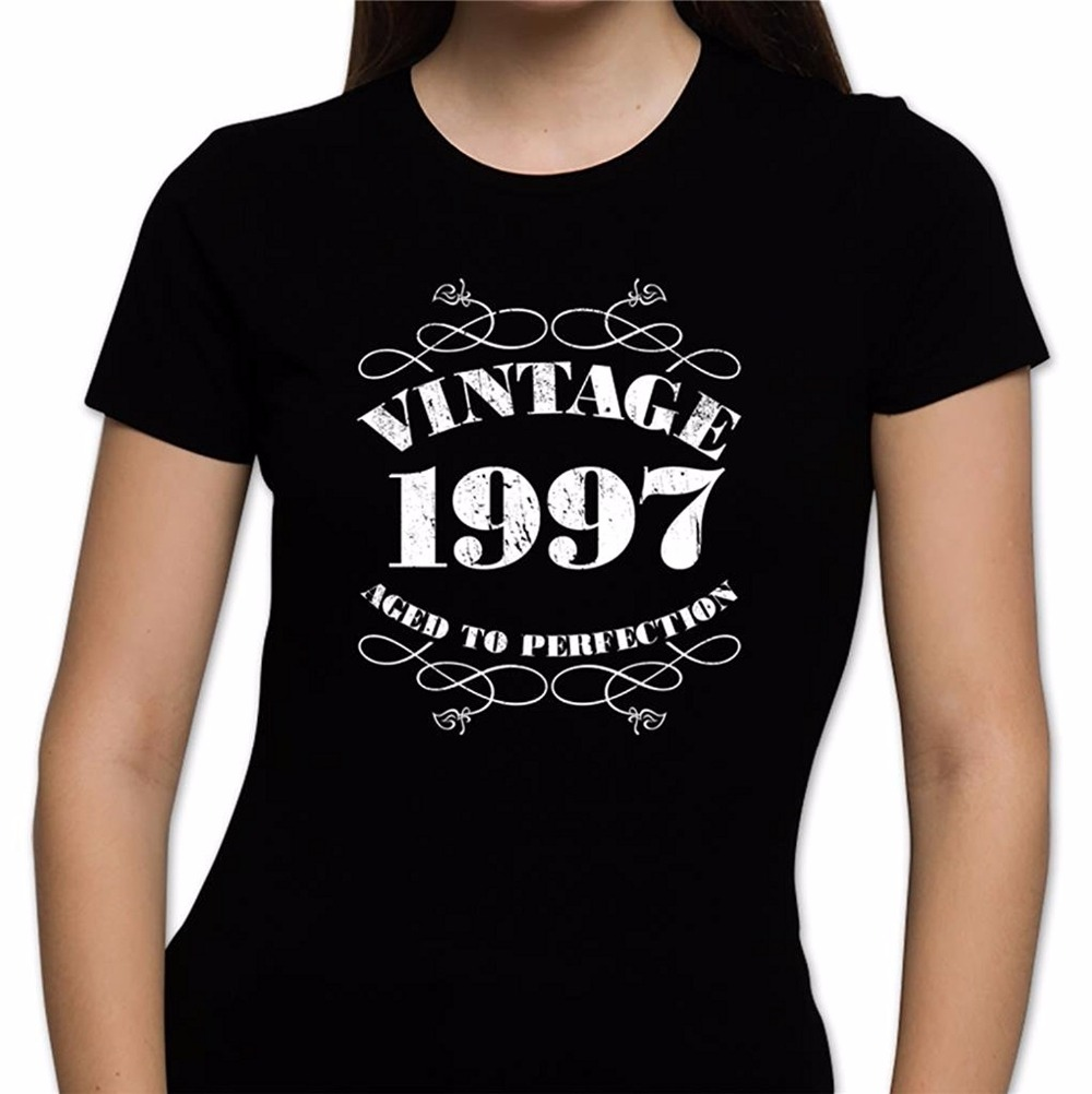 Women's 20th Birthday T Shirt Vintage 1997 20th Birthday