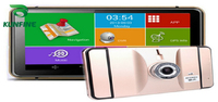 7 Inch Android Car DVR GPS Navigation Radio 8GB 512M Truck Vehicle GPS Navigators Lorry Rear View Camera Screen Free Map Upgrade