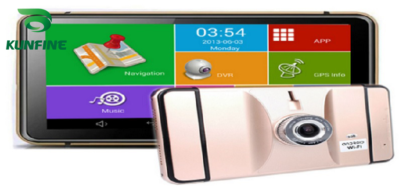 7 Inch Android Car DVR GPS Navigation Radio 8GB 512M Truck