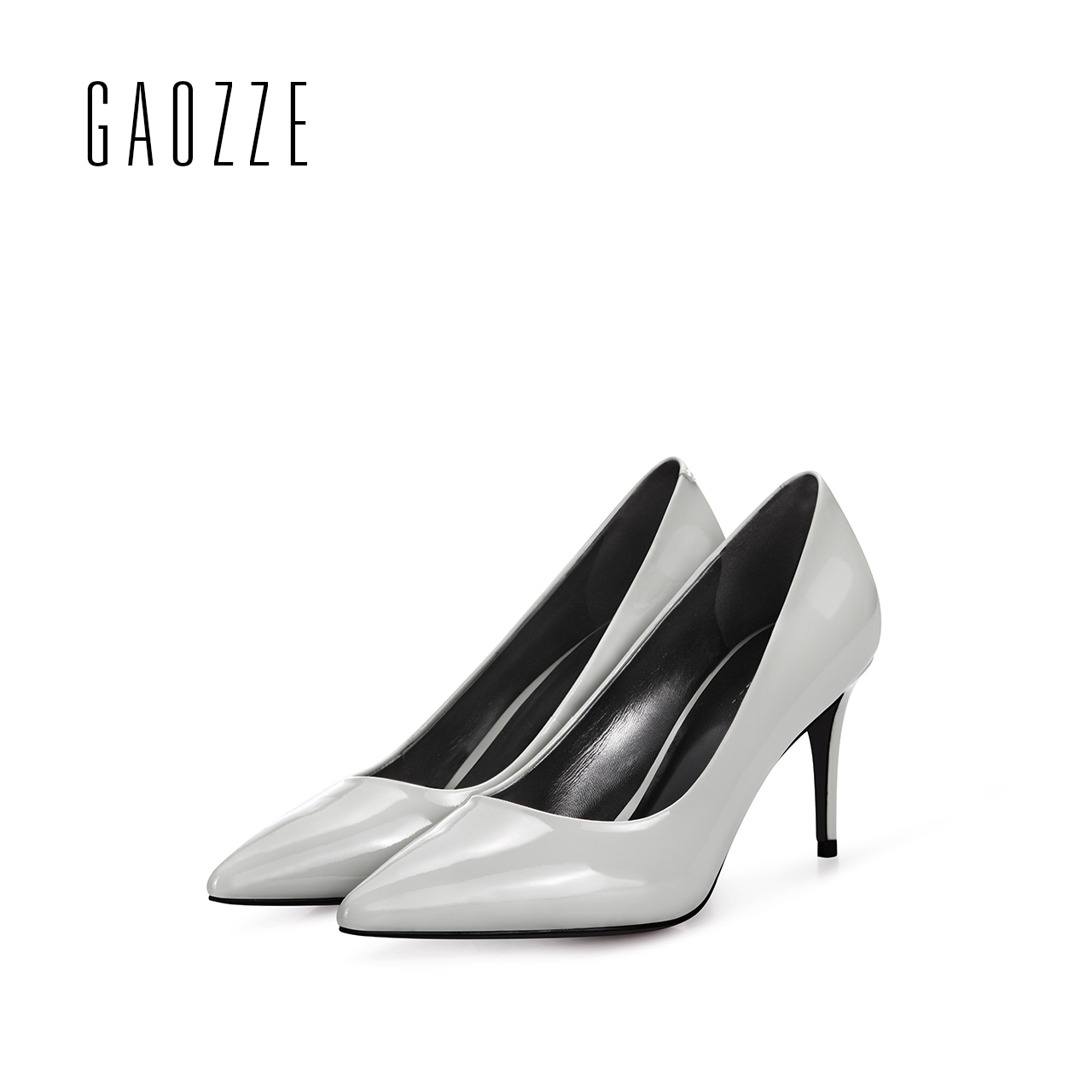 GAOZZE women high heels pumps shoes summer women Genuine Leather office dress shoes female sexy pointed toe high heels 7.5CM women shoes genuine leather pointed toe high heels women pumps shoes 2018 brand new fashion sexy red women office shoes 2588 a01