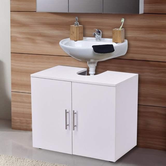 Pedestal Under Sink Bathroom Storage