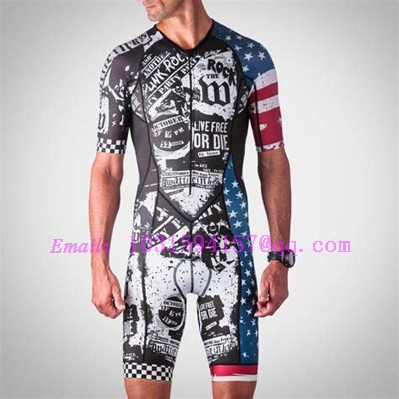 wattie ink custom clothing men body wear bike kits cycling skinsuit triathlon ropa ciclismo running skin suit speedsuit swimwear in Cycling Sets from Sports Entertainment