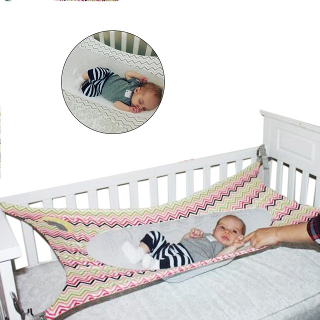 Baby Hammock Swing Bed Infant Safety Newborn Childrens Detachable Portable Soft