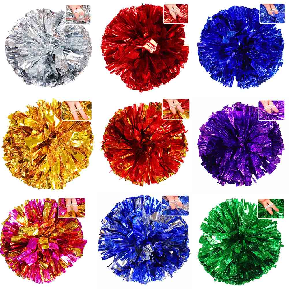 1pc Square dance cheerleading aerobics cheerleading ball hand flower bouquet