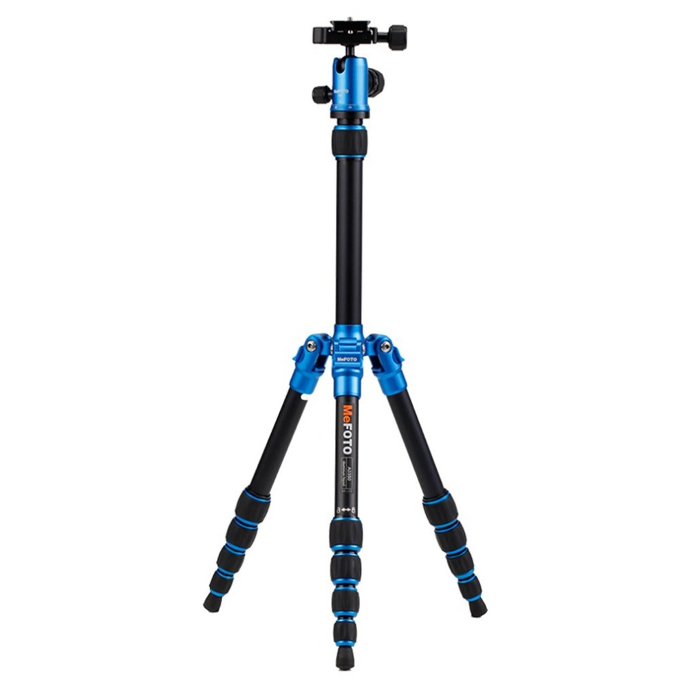 Brand New MeFOTO Classic Backpacker Aluminum Travel Tripod Kit Professional Tripods Max Loading 4.2kg for SLR DSLR Accessory new sys700 aluminum professional tripod