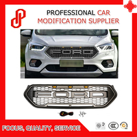 High quality Modified ABS car front racing grills grill Raptor Grille cover for Kuga Escape Front grille 2017 2018