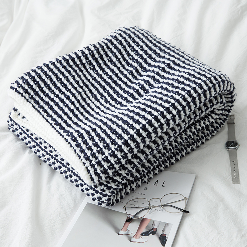 Nordic 100 Cashmere Like Sofa Throw Blanket Modern