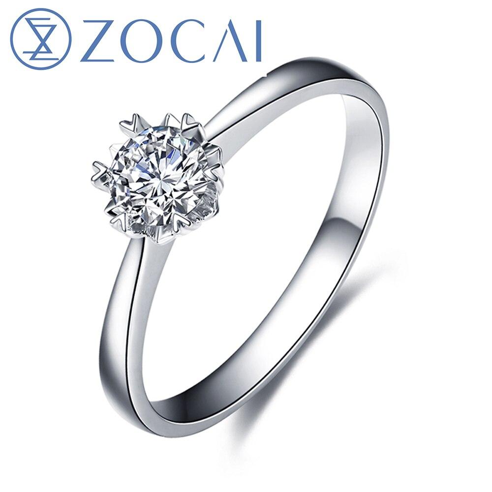 Nouveau 18K Fiançailles Mariage Cristal Bijoux Bague Pour Femmes Meilleur Cadeau Taille 6-10