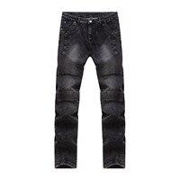 Hot Summer Motor Jeans Men Fear Of God Biker Jeans Cotton Trousers Mens Hip Hop Robin