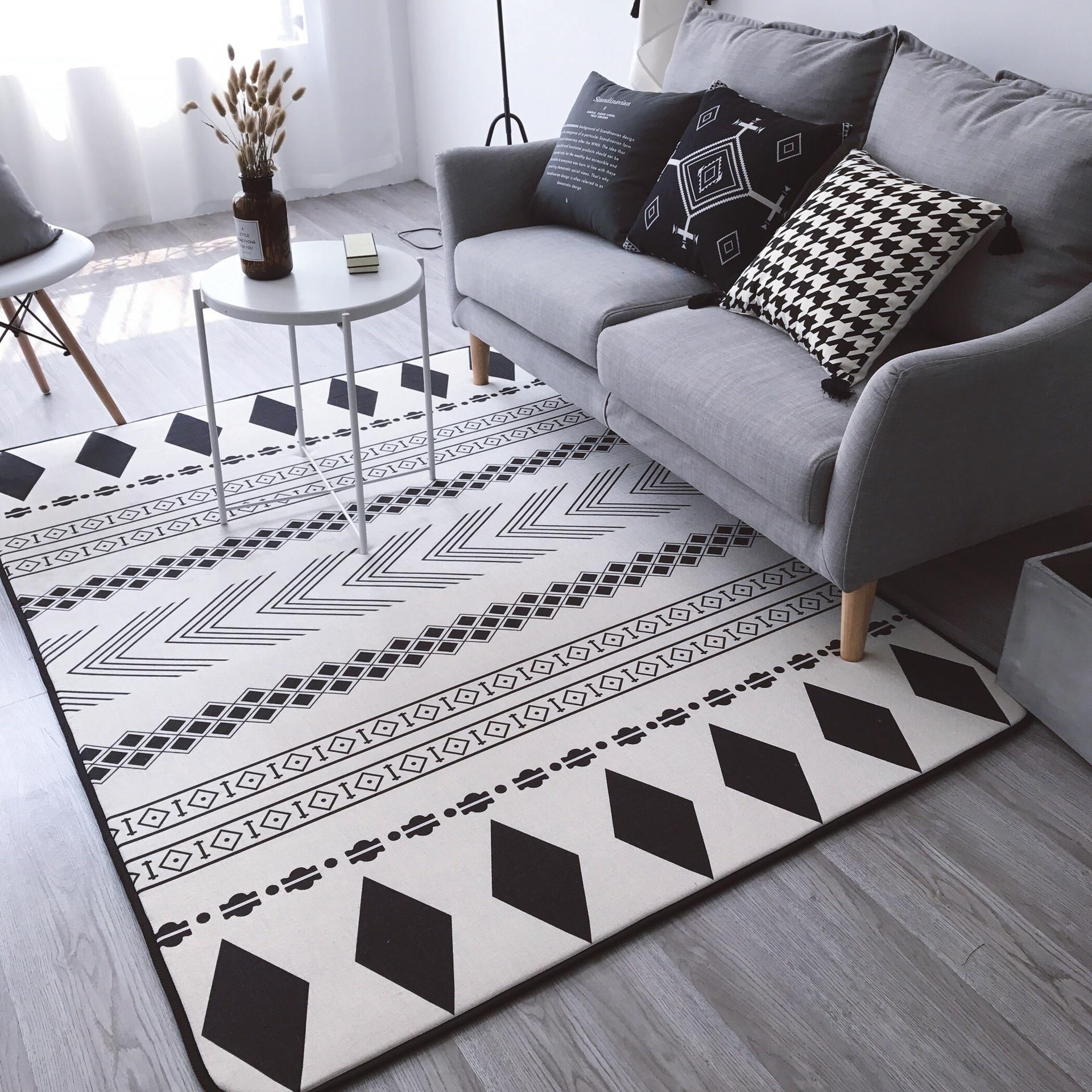2017 New Geometric Floor Carpet For Living Room Nordic