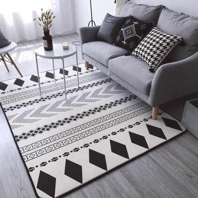 2017 New Geometric Floor Carpet For Living Room Nordic Style Rug Anti Slip  Rugs And Carpets