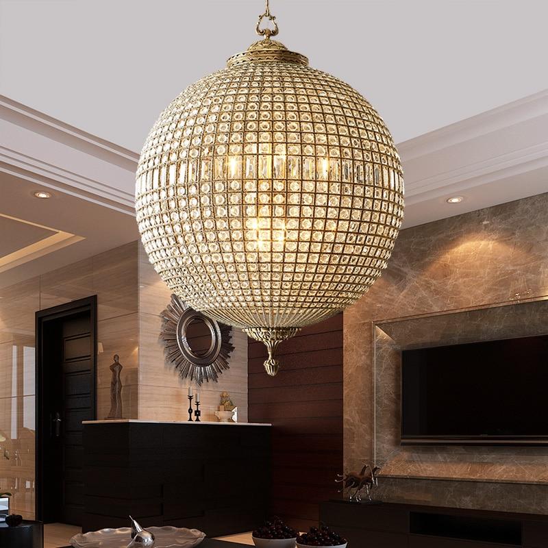 Br Chandelier Antique Sphere