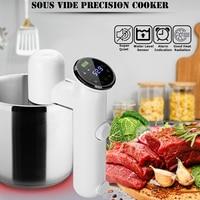 Sous Vide Precision Cooker Black/White US 110V /EU 220V 1100W Temperature and Timing Control Efficient Safe Rapidly Warmed