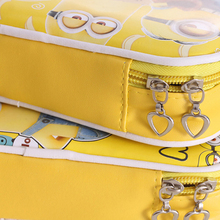 Cute Minions Leather Pens & Pencils Case