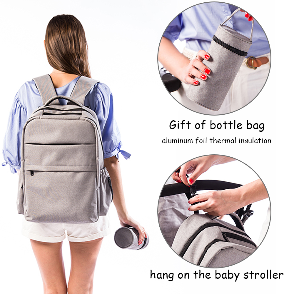 Mummy Backpack Maternity Nappy Mother Backpack Large Capacity Mom Baby DiaperBag
