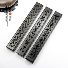Monolith manual ebony censer Hollow out sweet box Ta line incense aloes lying of wholesale
