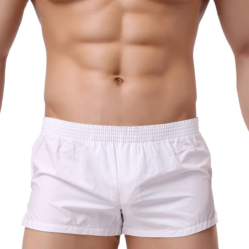 Men Underwear Cotton Boxers Colorful Loose Shorts Men's Panties Big Short Breathable Flexible Shorts Boxers Home Underpants