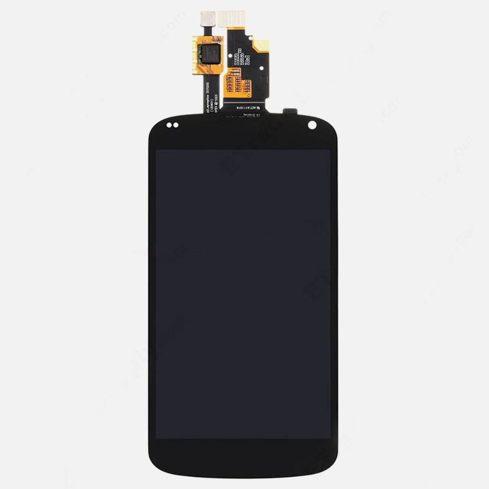 ФОТО high quality lcd assembly For LG Nexus 4 E960 LCD Display Touch Digitizer Screen replacement parts For LG Nexus 4 E960