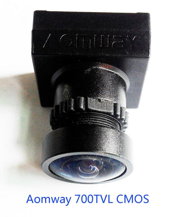 Aomway 700TVL HD 1/3'' CMOS FPV Camera 170 Degree Wide Angle Lens Module NTSC PAL aomway 700tvl wdr hd cmos fpv camera multicopter fpv 2 1 lens mini jst 5p plug