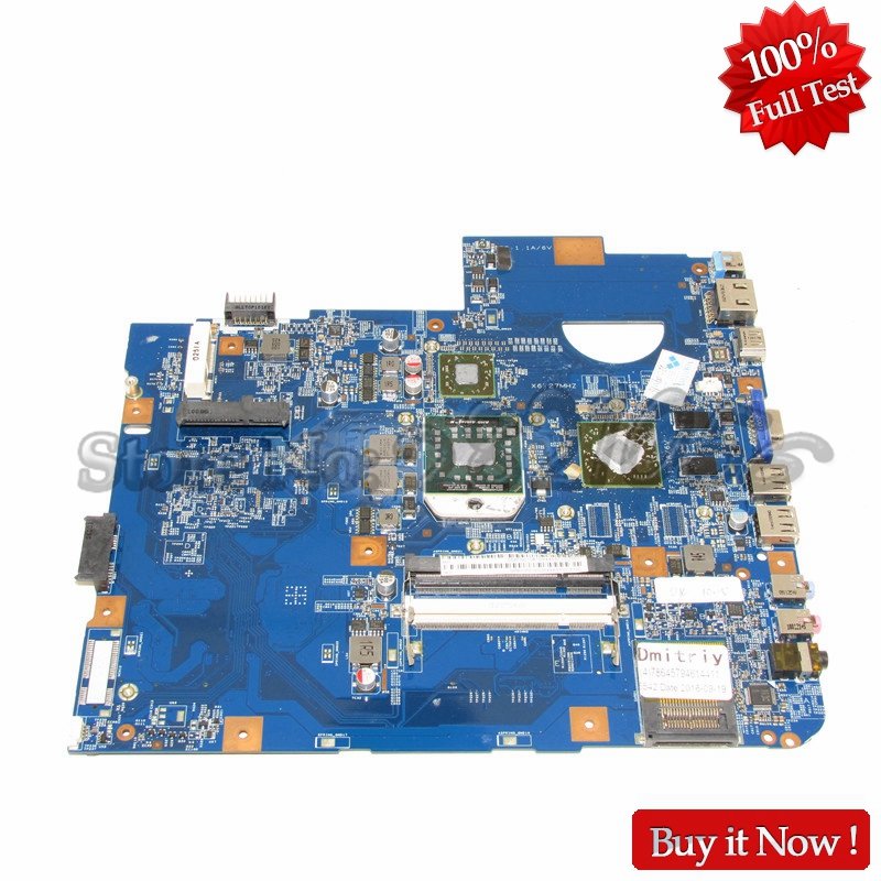 NOKOTION MBPHP01002 MB.PHP01.002 48.4FN02.011 laptop motherboard For acer Asipre 5542 PC Main Board DDR2 HD 4500 nokotion laptop motherboard for acer aspire 5542 main board mbpha01001 48 4fn01 011 216 0752001 ddr2 free cpu