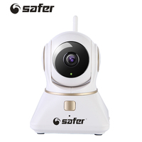 SAFER New Wireless IP Camera Wifi 720P Hd Cctv Camera Home P2P Security Surveillance Two Way