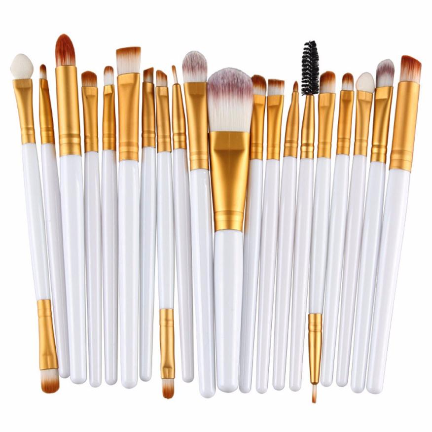 2017 hot sale makeup brushes 20 pcs Makeup Brush Set tools Make-up Toiletry Kit Wool Make Up Brush Set beauty health 17Dec 22 cheap sale hydration water bladder bag cleaning tube hose sucker brushes drying rack set