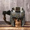 Viking Warrior Axe Skull Mug