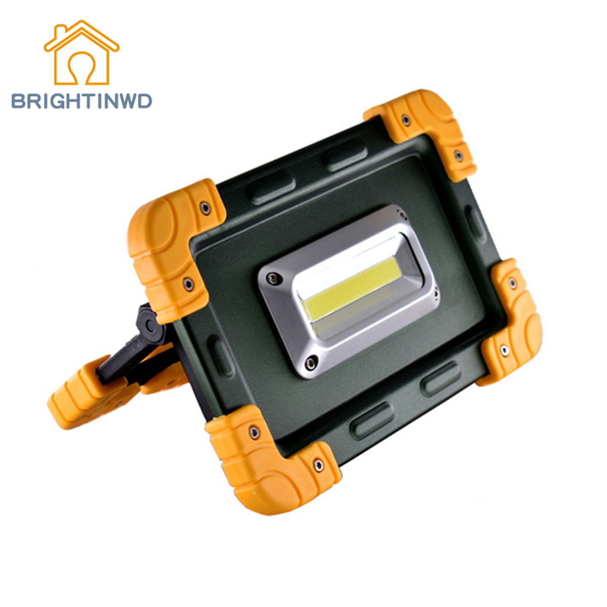 COB Led 750 Lumens Portable Floodlight Powerbank Lamp For Hiking Tent Light 20W LED Camping Lantern Rechargeable Camping Light