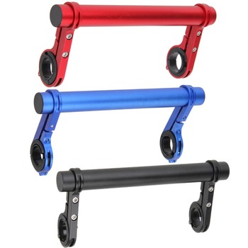 20CM-Carbon-Tube-Bicycle-Handlebar-Extender-Mount-Mountain-MTB-Bike-Cycling-Headlight-Bracket-Lamp-Flashlight-Holder