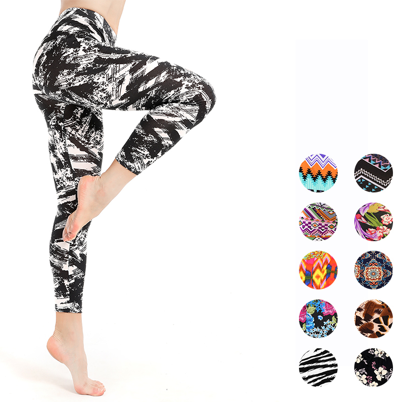 printing   Leggings   Women Sexy Fitness Activewear Push Up Pants Elastic breathable High Waist Workout   Leggings