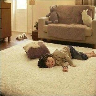Woven velvet thickening bruge photosensitive carpet coffee table yoga leugth carpet