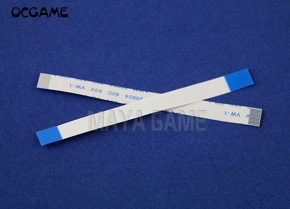 OCGAME 300pcs/lot power On Off Reset Switch Ribbon flex Ribbon Cable for <font><b>PS2</b></font> <font><b>50000</b></font> 500xx 5W image