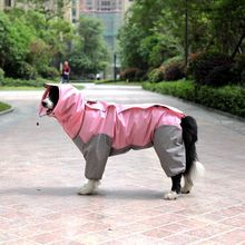 Waterproof Dog Jacket – Rainwear Jumpsuits With Hood