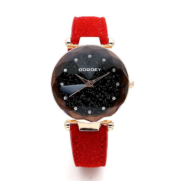 New Fashion Gogoey Brand Leather font b Watches b font font b Women b font ladies