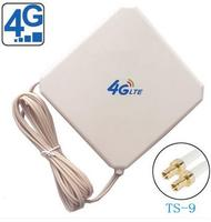 OSHINVOY LTE 4G patch antenna 35dBi 4g indoor signal wifi antenna with Ts9 high gain 4G antenna