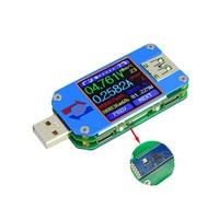 RD UM25C USB 2.0 Type C Color LCD Tester Voltage Current Meter Voltmeter Ammeter Battery Charge Measure Cable Resistance