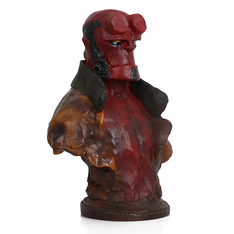 Movie Anung Un Rama resin action figure PVC Hellboy comic figures Child Collection Model Toys for Children 20 cm hellboy giant right hand anung un rama right hand of doom arms hellboy animated cosplay weapon resin collectible model toy w257