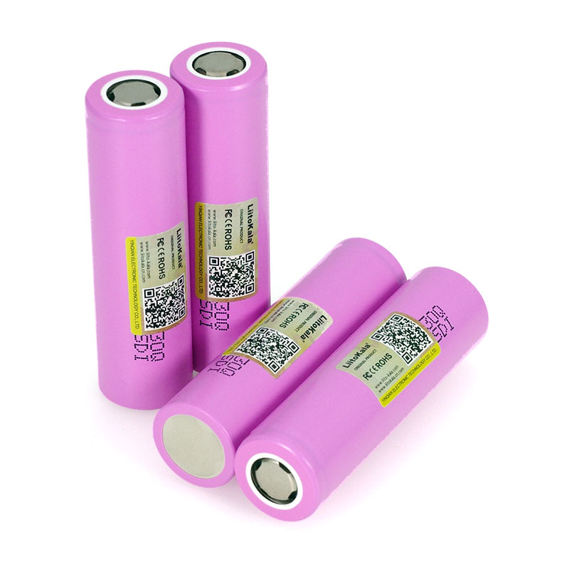 Image 5 - Liitokala 100% Original Brand new INR18650 30Q 18650 3000mAh lithium Rechargeable battery For Electronic cigarette Batteries-in Replacement Batteries from Consumer Electronics