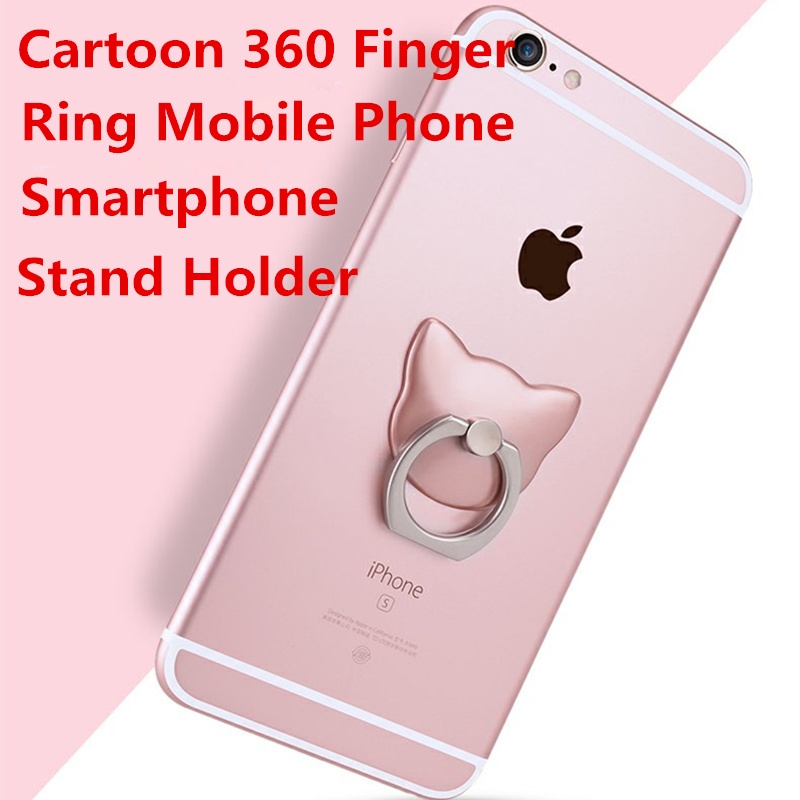 360 Degree Finger Ring Mobile Phone Smartphone Stand Holder For iPhone iPad Xiaomi all Smart Phone Luxury Couple Models