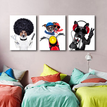 Wall Art Canvas Painting Animals Pictures For Living Room Home Decor Decorative Prints
