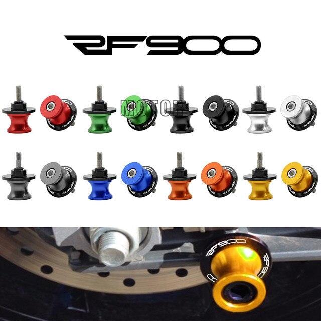 Bobines de bras oscillant pour Suzuki RF900 RF900R   1994-1997, 8MM, en gamme, couvercle de bras arrière, vis de support, curseurs RF 900 R 8 mm M8