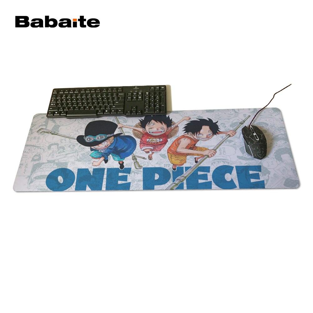 Babaite juego grande una pieza DIY diseño patrón ordenador mousepad del tamaño 30x60 30x70 30x80 y 30x90 cm