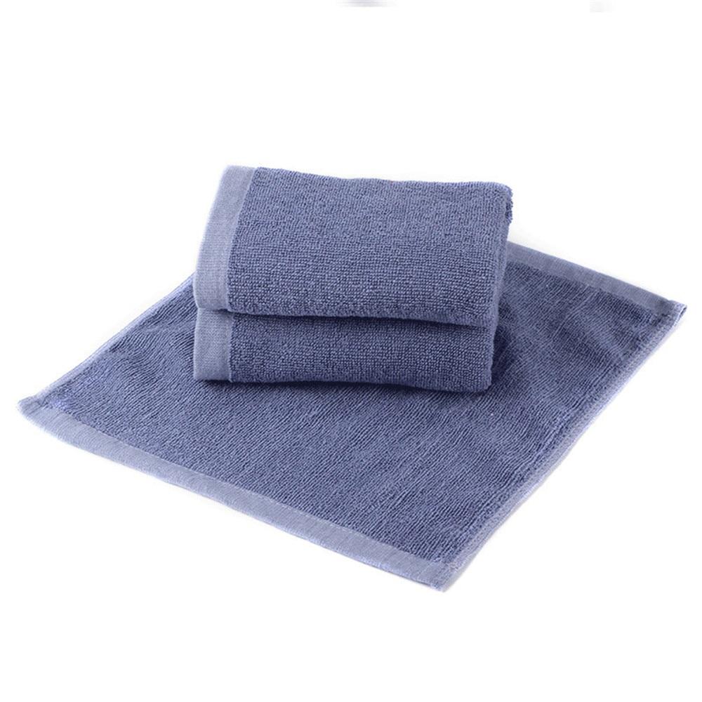 DelCaoFen 10pcs 30 30cm Cotton Face Hand Car Cloth Towel House Cleaning tools Hand towel Free shipping Washcloths Hand Towels in Hand Towels from Home Garden