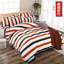 Girl pastoral Home textile 4 PCS/Lot cotton 3d Bedding Sets 2016 Print Bed Set Duvet Cover Sheet Pillowcase