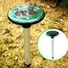New Solar Power Ultrasonic Gopher Mole Snake Cat Bird Mosquito Mouse Pest Repeller Control Garden Yard