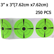 Target  Sticker Qty 250pcs 3 Rated Self Adhesive Targets for Shooting labels