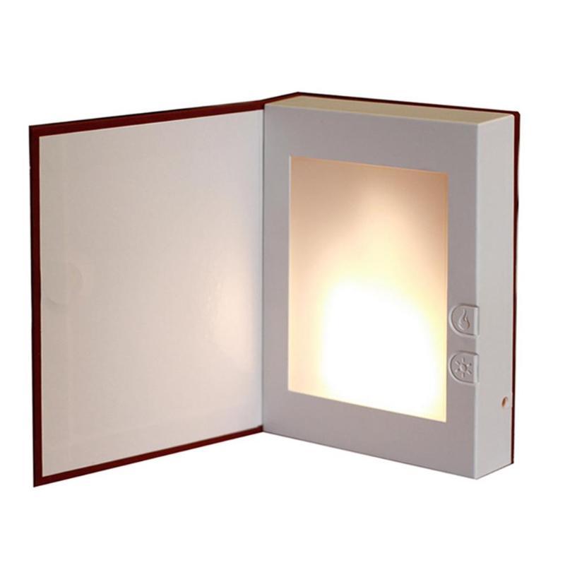 Kopen Goedkoop Woordenboek Tafellamp Boek Vorm Led Vlam