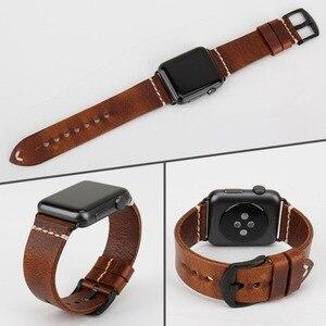 Image 4 - MAIKES akcesoria do zegarków Watchband do Apple opaski do zegarka 44mm 40mm i pasek do zegarka Apple 42mm 38mm seria 5 4 3 2 1 bransoletka iWatch