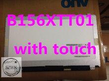 Original Brand new B156XTT01.0 B156XTT01 Laptop LCD ekran dotykowy dla Lenovo S510P z dotykowym szkła