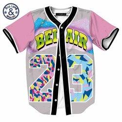 4XL 5XL Women Men Single Breasted 3D Shirt Summer T Shirt Fashion Overshirt Baseball Jersey Teen Hip Hop Streetwear